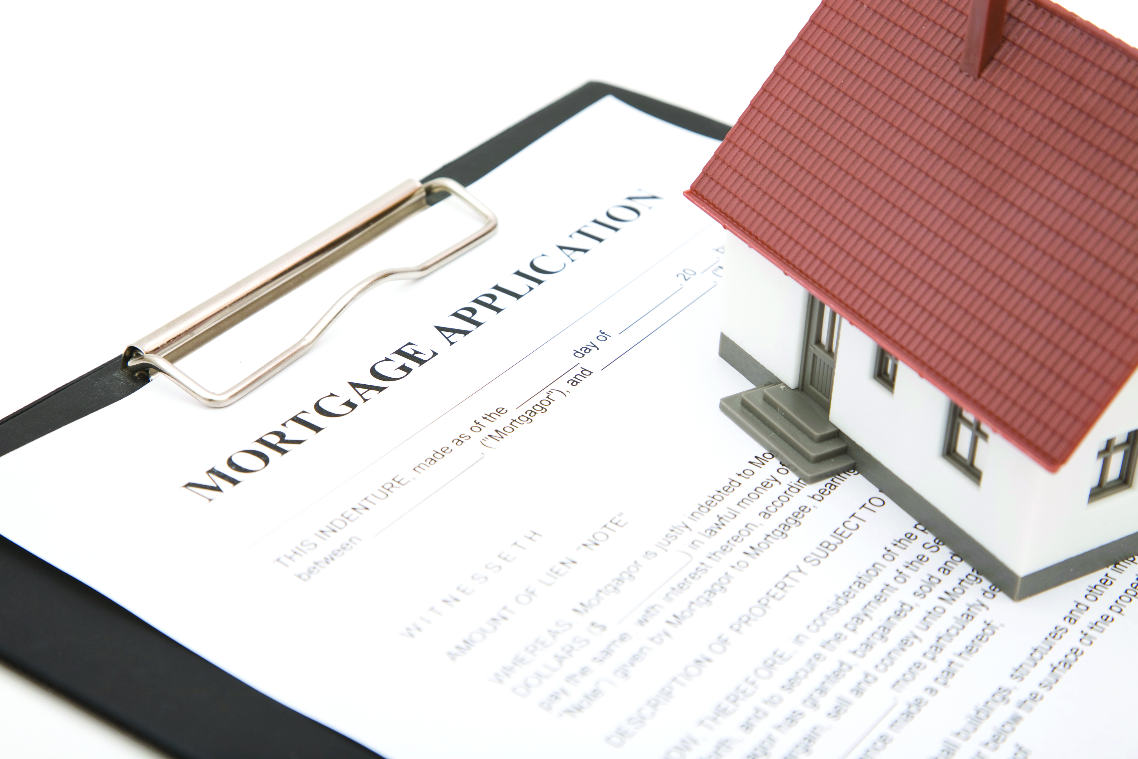 mortgaging property in a trust