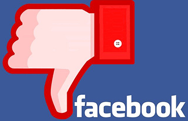 Facebook thumbs-down